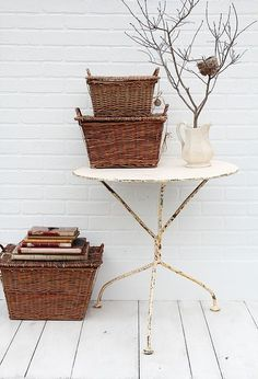 Wooden Baskets 色もサイズも形もさまざま。優しいアイテム、バスケットをインテリアに取り入れてみませんか? - Yahoo! BEAUTY