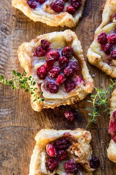 Cranberry Brie Pastry Tarts | halfbakedharvest.com #brie #cranberries #appetizers #thanksgiving #christmas Cranberry Cheese, Cheese Tarts, Appetizer Dips, Appetizer Recipes, Xmas, Christmas Christmas, Dessert Ideas, Dessert Recipes, Party Snacks
