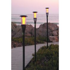 Weed Torches - Solar Tiki Torch Light with Flickering Amber LED 8Pack *** Read more reviews of the product by visiting the link on the image. (This is an Amazon affiliate link)