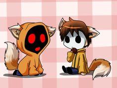 Neiko masky and hoodie