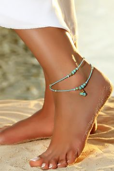 Jewelry & Watches Fashion Jewelry The Best Handmade Ladies Glass Pearl Ankle Anklet Bracelet