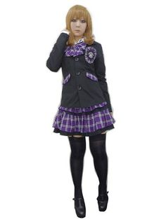 Jacket w/Patch Black x Purple. #punkfashion #Gothic #Deorart See more at: http://www.cdjapan.co.jp/apparel/deorart.html