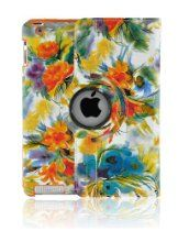 Tenmile offer LiViTech(TM) Painting Art Design Series 360 Degree Rotating Smart Cover for Apple iPad 2/3/4 (Flower). This awesome product currently limited units, you can buy it now for  $17.48, You save - New