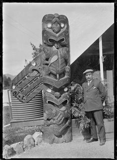 Digitised Image Sculpture Art, Sculptures, Maori Patterns, Polynesian People, Tiki Tattoo, Tiki Statues, Maori Designs, Maori Art, Easter Island