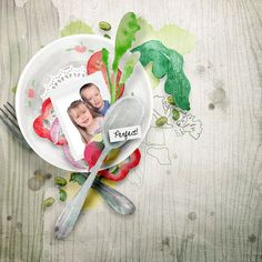 NEW NEW NEW NEW   Salad By emeto designs  http://shop.scrapbookgraphics.com/Salad.html  Photo of my son & daughter  TFL