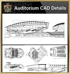 ★【Auditorium CAD Drawings Collection】@Auditorium Design,Autocad Blocks,AuditoriumDetails,Auditorium Section,Auditorium elevation design drawings