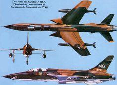 Republic F-105 Thunderchief | USA | 419th TS, USAF | F-105F-1-RE | MG (63-8276)