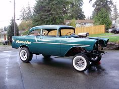 Gasser Car | 1956 Chevrolet 150 Gasser Project Cars For Sale
