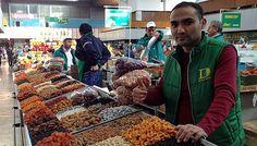 Green Bazaar in Almaty
