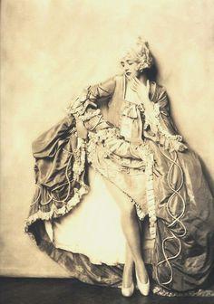 vintage baroque costume photo