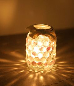 Mason Jar Prism | This would be a really cute mason jar project we'll try next. #DiyReady diyready.com