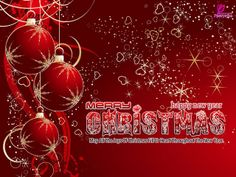 Merry  Christmas to all my family and friends. Have a happy New Year also!! :)