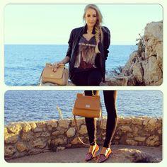 Monaco Blogger 'Sophie in Monaco' with her favourite Dolce & Gabbana Miss Sicily handbag from Profile @SophieInMonaco Blogger @Dolce & Gabbana. Get yours online www.profilefashion.com. #DolceGabbana #Handbag #Bag #MissSicily #France #Places #Travel #ProfileFashion #Blogger #Fashion #Style #Brighton #Outfit #Stylish