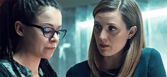 Cosima and Delphine discuss the European trials and the next course of action for Cosima's treatment.