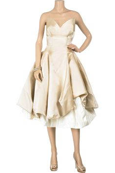 Vivienne Westwood Gold Label Lily wedding gown