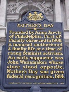 Mother's Day Origin.  We sold it here first!