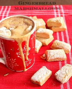 Gingerbread Marshmallows Recipe @Brownsugarfb
