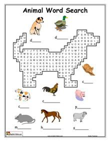 This is a fun little ESOL worksheet in which the children will have fun searching through a word search to find the words indicated in the pictures.