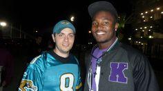 Jacksonville Jaguars WR #87 Kevin Elliot (November 2012 at Everbank Field in Jacksonville, FL)