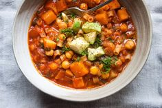 Winter Chickpea Minestrone – GRAIN