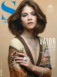 Alba Galocha covers S Moda 3 May 2015