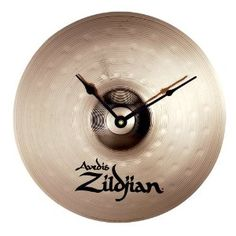 Never lose track of time with this Zildjian clock