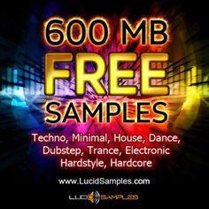 http://www.lucidsamples.com/14-free-sample-packs  - Free Samples
