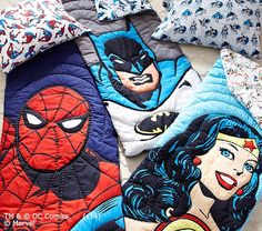 Super Hero Sleeping