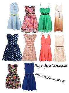 """""""My style in Dresses"""" by joe-joe-circus-01 ❤ liked on Polyvore featuring Little Mistress, Object Collectors Item, Milly and my style in dresses"""