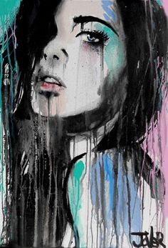 "Loui Jover; ""Forever Far Away...""  Watercolor Painting.  Follow RUSHWORLD! We're on the hunt for everything you'll love!"