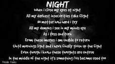 """""""Night"""" #Creative #Art in #poetry @Touchtalent http://bit.ly/Touchtalent-p"""