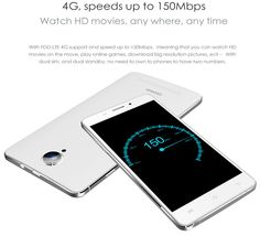 DOOGEE IBIZA F2 5-inch 4G LTE MTK6732 1.5Ghz Quad core Smartphone