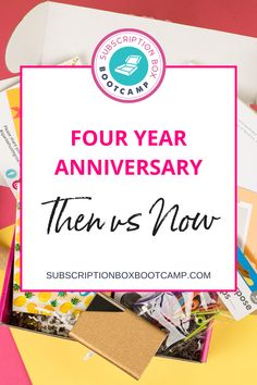 Some of you may still be in the idea stage or in just launched stage and we want to encourage you because where we're at now, we were not at four years ago. If we can do it, you can do it too with a gentle reminder that you can never, ever compare your day one to someone else's one hundred. Complete Plan for Subscription Box, Subscription Boxes Ideas, Business Plan, Female Entrepreneur Tips, Subscription Boxes for women, Subscription Box Bootcamp, How to start subscription box business!