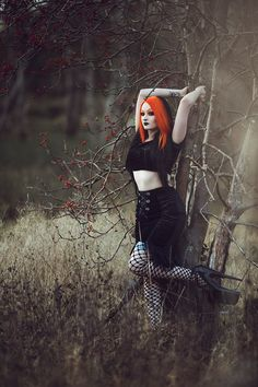 #GothGirl  Model/MUA: Elladora Photography: Stephen J Photography Welcome to Gothic and Amazing | www.gothicandamazing.com