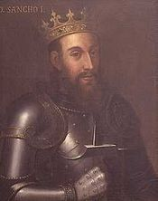 Sancho I - King of Portugal from 1185 to his death in He married Dulce of Aragon and had several children. Spain History, History Of Portugal, Spain And Portugal, European History, Aragon, Portuguese Royal Family, Royal Families Of Europe, Old Portraits, Girl Drawing Sketches