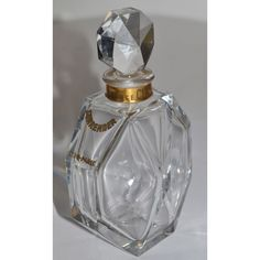 Vintage Surrender Baccarat Perfume Bottle By Ciro