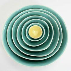 Piatti color acqua - Erin Donohue-Davis