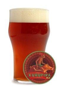 Cerveja Kurupira Ale, estilo American Brown Ale, produzida por Cervejaria Nacional, Brasil. 5.7% ABV de álcool.