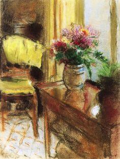 Edouard Vuillard, Interior Scene. See The Virtual Artist gallery: www.theartistobjective.com/gallery/index.html