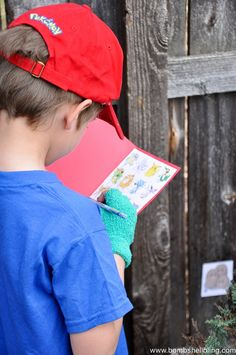 CATCH EM ALL Pokemon search and find game - Love the free Pokedex printables! Great birthday party game idea! #pokemon