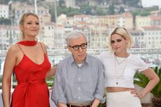 Cannes 2016 day one: Woody Allen, Kristen Stewart and Blake Lively – in pictures