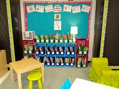 This site has really cute classroom decorating ideas
