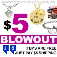 ►► FIVE DOLLAR JEWELRY BLOWOUTS ►► Jewelry Secrets