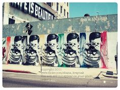 los angeles street art photograph by smk16 on Etsy, $12.00