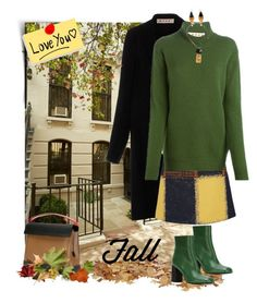 """""""Fall with MARNI ...;)"""" by a-vigh ❤ liked on Polyvore featuring Marni"""