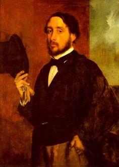 Edgar Degas- Self-portrait