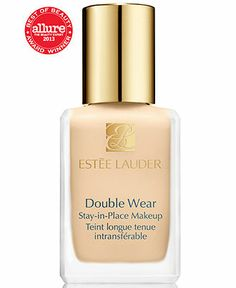 Estée Lauder Double Wear Stay-in-Place Foundation - The most full coverage foundation I have ever tried that does not feel heavy or get cakey throughout the day. It is awesome!
