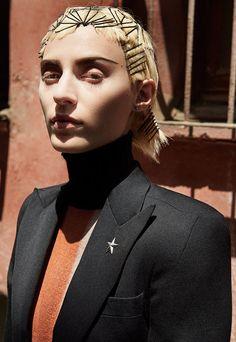 Julia Nobis by Craig McDean for W Magazine November 2015   The Fashionography