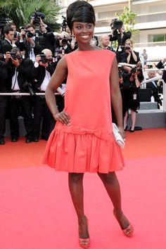 Aissa Maiga Cannes Film Festival May 2008