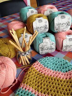 Taller solidario de ganchillo con Lady Crochet